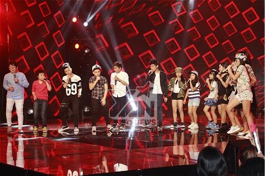 Tiết mục cuối là phần trình diễn của tất cả các thí sinh của chương trình Giọng hát Việt nhí qua một ca khúc do chính nhạc sĩ Hồ Hoài Anh sáng tác khép lại một đêm Gala đầy cảm xúc và ấn tượng.