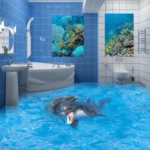 Những chú cá heo này sẽ luôn có mặt để góp vui mỗi lúc bạn vào thư giãn