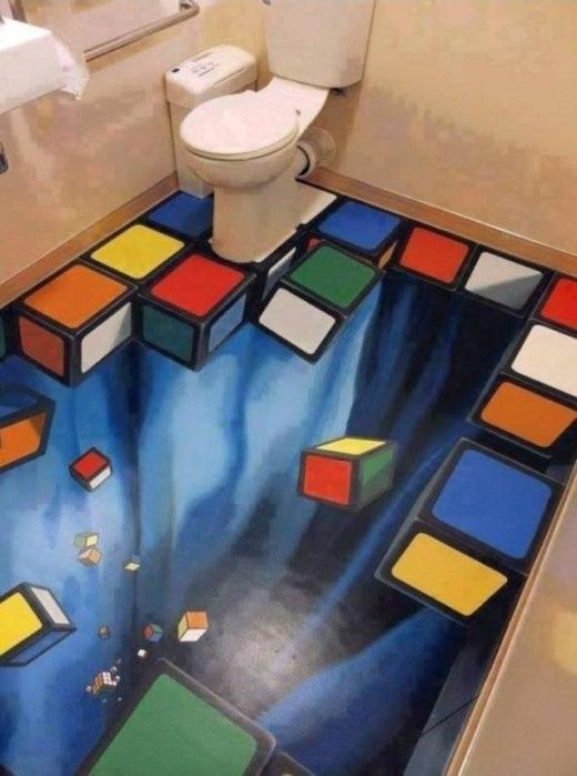 Nhà vệ sinh được khuyến cáo không dành cho những người yếu tim...