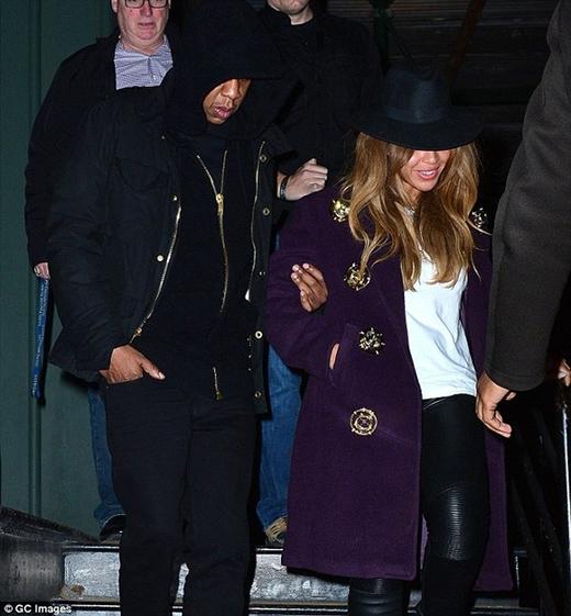 Hai vợ chồng Jay Z - Beyoncé