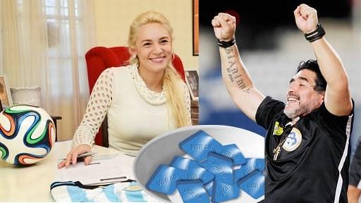 """Vì bồ trẻ, Maradona phải tìm đến """"thần dược"""" viagra để chứng tỏ khả năng đàn ông của mình"""