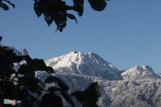 Cảnh tuyết phủ trắng ở Sa Pa khiến nhiều người nghĩ là ở châu Âu.