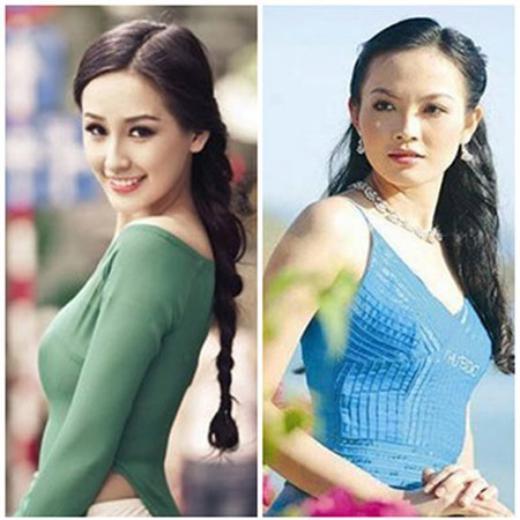 Hoa hậu 2006 Mai Phương Thúy và Á hậu Lưu Bảo Anh - Tin sao Viet - Tin tuc sao Viet - Scandal sao Viet - Tin tuc cua Sao - Tin cua Sao