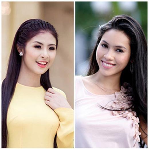 Hoa hậu 2010 Ngọc Hân và Á hậu Hoàng My - Tin sao Viet - Tin tuc sao Viet - Scandal sao Viet - Tin tuc cua Sao - Tin cua Sao