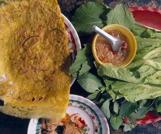 Bánh xèo - đặc sản miền tây Nam Bộ