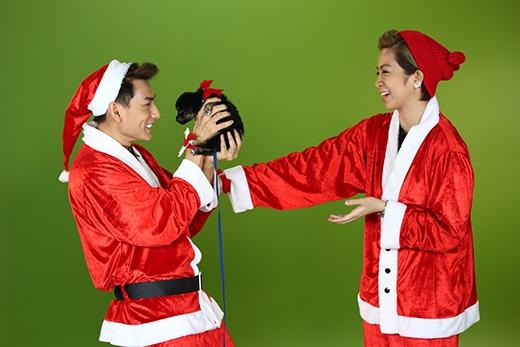 Phải chăng đây là món quà củaIsaacdành choGil Lêmùa Noel này?