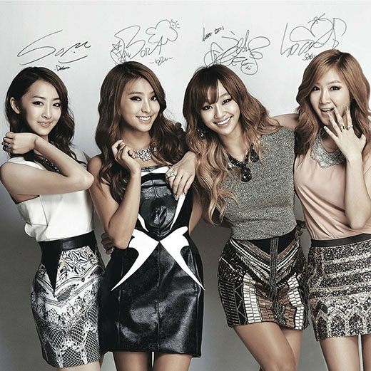 Xếp thứ 3 là nhóm nhạc nữ Sistar với tỷ lệ bình chọn là 10.8%