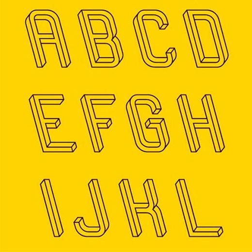 Đây là mặt trước hay mặt sau của các chữ cái?