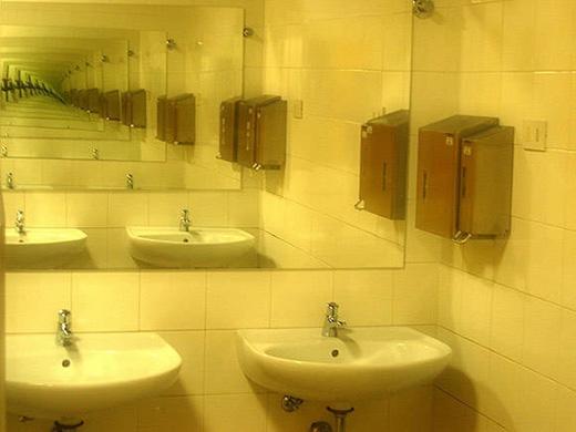 Đâu là gương và đâu là vật thật?