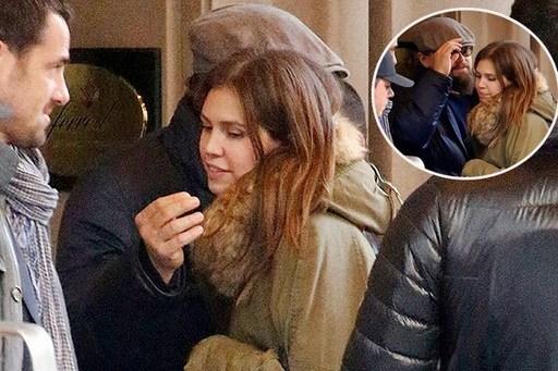 Khoảnh khắc thân mật giữa Daria Zhukova và nam tài tử Leonardo Di Caprio tại New York. Ảnh: 101 Great Goals