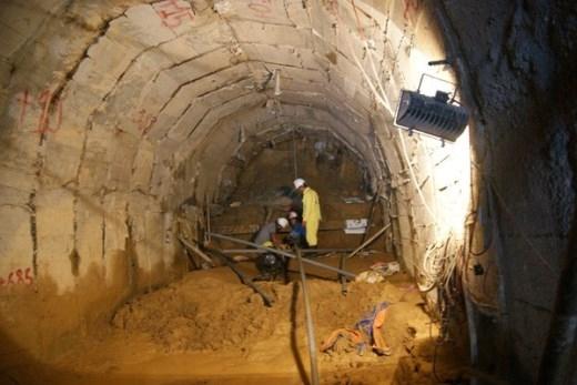 Ngoài 2 đường hầm kể trên, một mũi khoan ngang từ đoạn hầm phía hạ du đập thủy điện Đạ Dâng cũng được thực hiện để thoát nước từ vị trí các công nhân gặp nạn ra ngoài.
