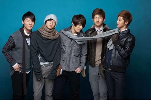 DBSK khi còn là 5 thành viên