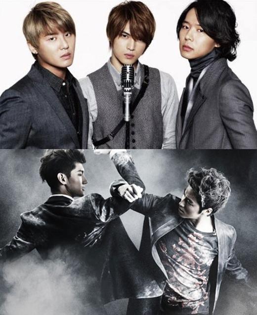 Nhóm nhạc nổi tiếng đã bị tách thành JYJ và DBSK với hai thành viên