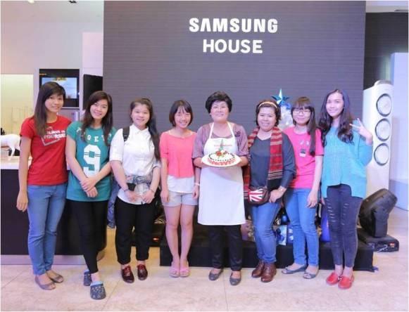 """""""Gợi ý"""" món ngon cho mùa lễ hội ở Samsung House"""