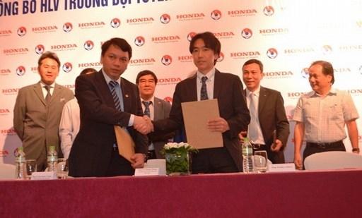 Hợp đồng của HLV Miura có thời hạn 2 năm. Ảnh: Nguyễn Đăng