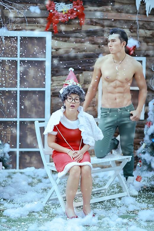 'Bà già Noel' Thúy Nga và trai đẹp 6 múi Ngọc Tình - Tin sao Viet - Tin tuc sao Viet - Scandal sao Viet - Tin tuc cua Sao - Tin cua Sao