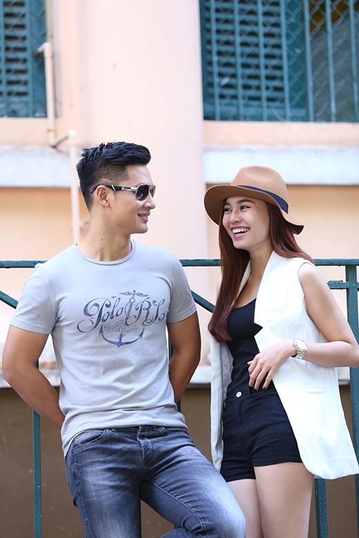 Cặp đôi này đã quen biết và làm việc với nhau từ phim truyền hình nhiều tập 'Sóng gió hôn nhân' - Tin sao Viet - Tin tuc sao Viet - Scandal sao Viet - Tin tuc cua Sao - Tin cua Sao
