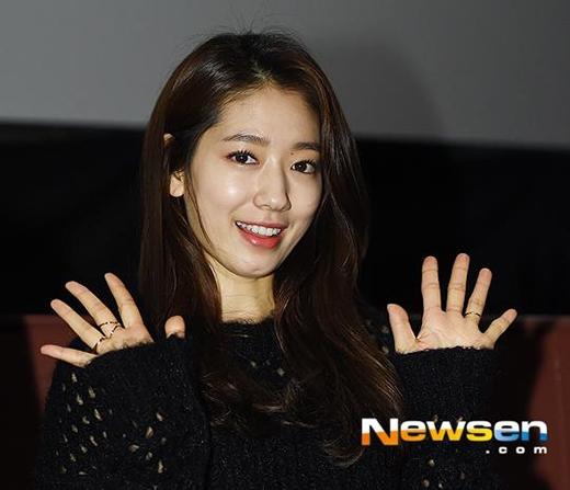 Park Shin Hye rạng rỡ trước ống kính