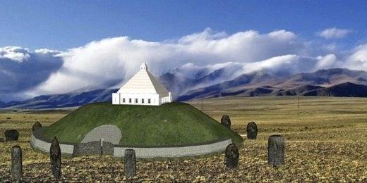 Hình ảnh dự kiến về lăng mộ cho công chúa