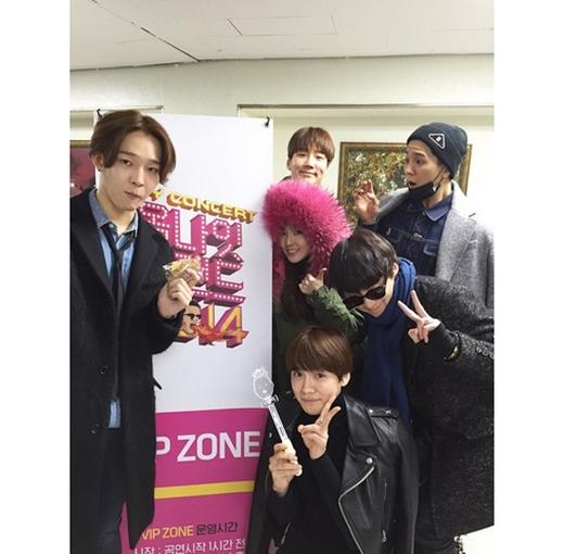 Dara hào hứng mừng giáng sinh bên Winner