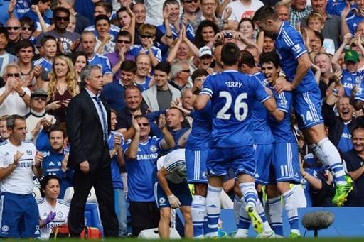 Mourinho đều vô địch quốc gia trong cả bảy lần đội của ông dẫn đầu giải dịp Giáng Sinh, như mùa giải hiện tại. Ảnh: AFP.