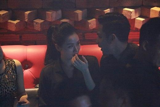 Tâm Tít và chồng sắp cưới xuất hiện cùng nhau vào tháng 11 vừa qua. - Tin sao Viet - Tin tuc sao Viet - Scandal sao Viet - Tin tuc cua Sao - Tin cua Sao