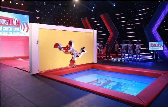 """Gameshow vận động mới trên sóng VTV3  """"Người đi xuyên tường"""" - vui nhộn và ấn tượng"""
