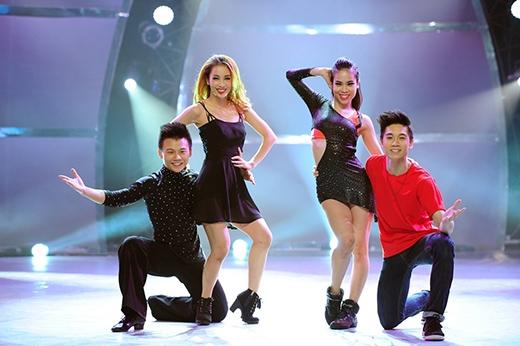 Top 4 'Thử thách cùng bước nhảy'.
