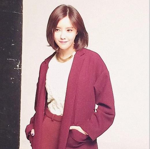 Hyomin bất ngờ khoe hình chụp tạp chí với vẻ đẹp cổ điển