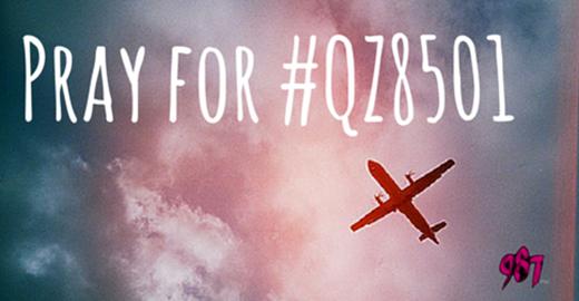 Trên các trang mạng xã hội, tất cả mọi người đều mong chờ và cầu nguyện cho toàn bộ người trên chuyến bay QZ 8501 sẽ được bình an vô sự.