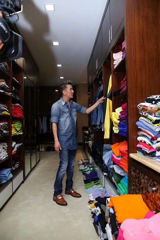 'Kho' quần áo hàng hiệu của Đàm Vĩnh Hưng - Tin sao Viet - Tin tuc sao Viet - Scandal sao Viet - Tin tuc cua Sao - Tin cua Sao