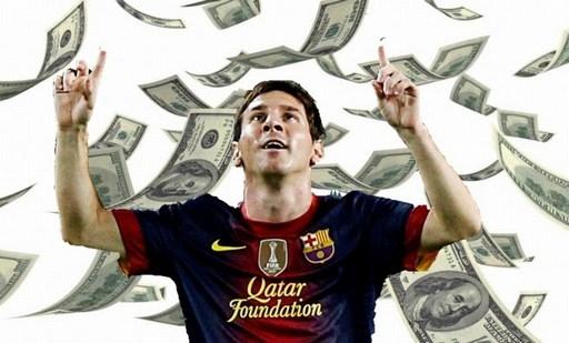 Messi sẽ sống trong mưa tiền nếu gia nhập Man City.