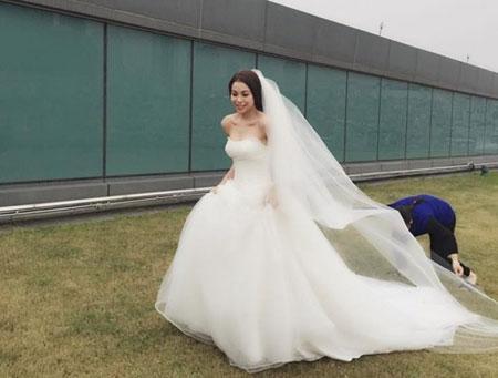 Một vài bức ảnh cưới của Trà Ngọc Hằng được người bạn thân tiết lộ. - Tin sao Viet - Tin tuc sao Viet - Scandal sao Viet - Tin tuc cua Sao - Tin cua Sao