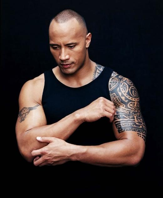 56. Dwayne Johnson (42 tuổi, diễn viên ngưỡi Canada-Mỹ)