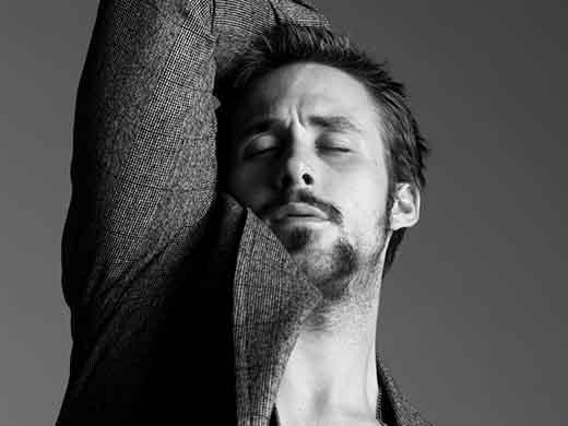7. Ryan Gosling (34 tuổi, diễn viên/đạo diễn và nhạc sĩ người Canada)
