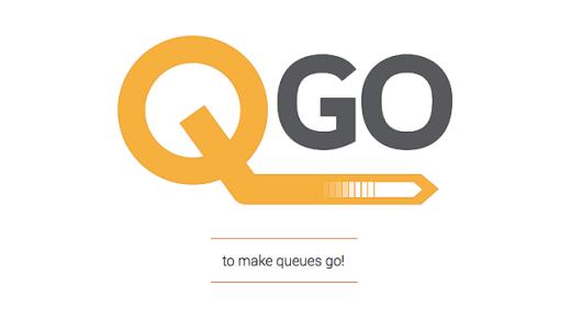 """Mục đích của ứng dụng QGo là tránh lãng phí thời gian bằng cách tránh cho bạn việc phải xếp hàng dài. Trớ trêu là khi bạn truy cập vào trang chủ của QGo, bạn sẽ thấy một biểu tượng đang loading: rõ ràng bạn đang xếp hàng để đợi nó tải về máy. Sau khi đợi chờ mòn mỏi, bạn được chào mừng với lời nhắn: """"Những sản phẩm tốt khiến cho công ti thành công, những dịch vụ tốt khiến công ti bất bại!"""""""