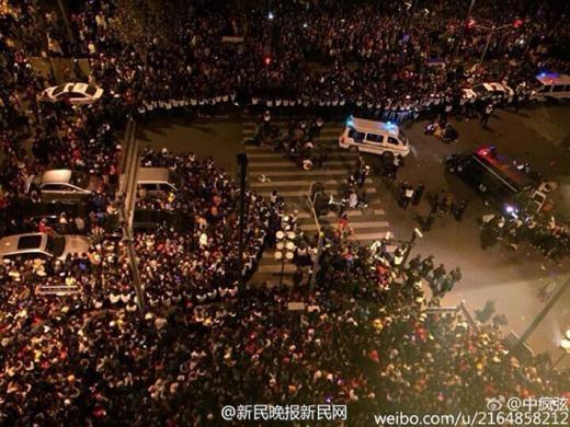Tuy nhiên, chính quyền thành phố cho biết hiện số người thiệt mạng đã tăng lên 36 và số người bị thương là 47. Ảnh: Straits Times