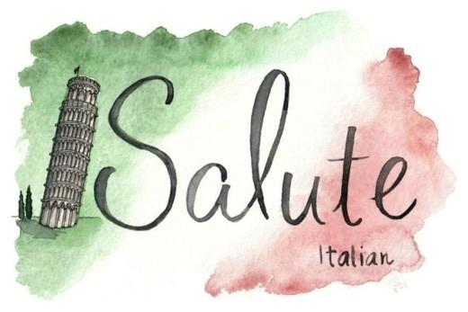 Ở Italy, khi cụng ly mọi người sẽ hô vang salute