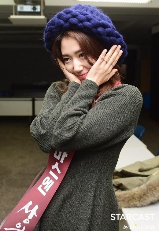 Park Shin Hye đáng yêu trong buổi tuyên truyền phim điện ảnh The Tailors