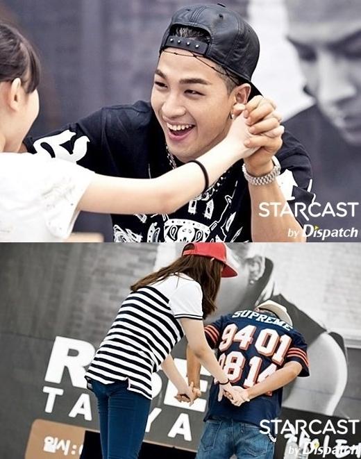 Taeyang chủ động thân thiện nắm tay fan trong buổi ký tặng album Rise