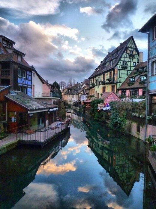 Thị trấn Colmar ở Pháp