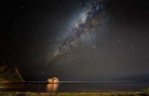 Cảnh trời đêm trên biển Ấn Độ Dương