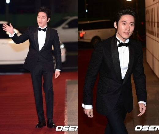 Dù gần 40 tuổi nhưng Jang Hyuk vẫn trẻ trung và lịch lãm.