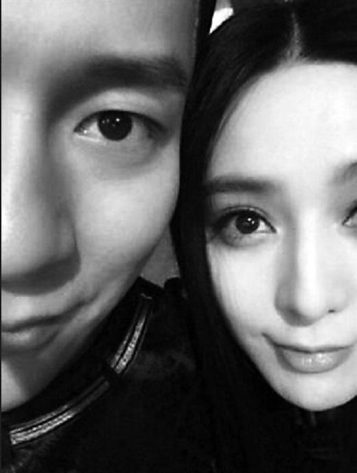 Phạm Băng Băng từng khoe ảnh chụp chung của cả hai trên weibo cá nhân của mình