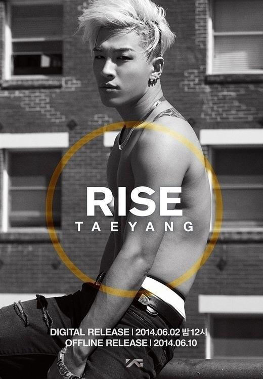 Eyes, Nose, Lips nằm trong album Rise được Taeyang phát hành giữa năm ngoái.