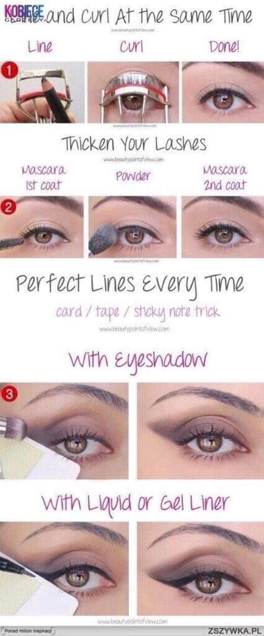 Một số cách kết hợp giúp bạn trang điểm cho đôi mắt nhanh hơn.