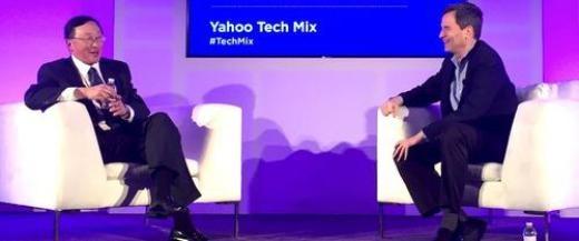 John Chen trả lời phỏng vấn của Yahoo.