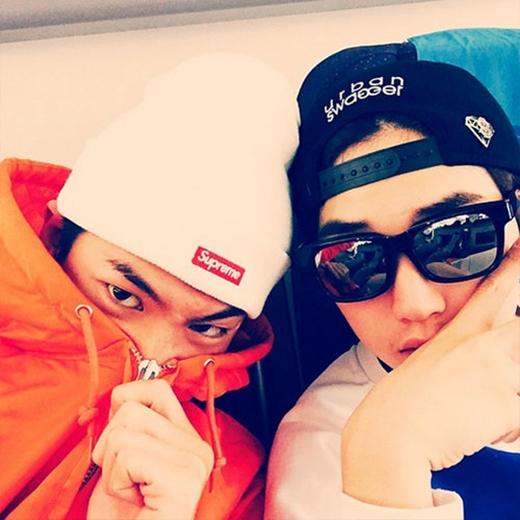 Baro (B1A4) và Sandeul chia sẻ trên trang cá nhân: 'Malaysia, hẹn gặp các bạn sớm nhé'.