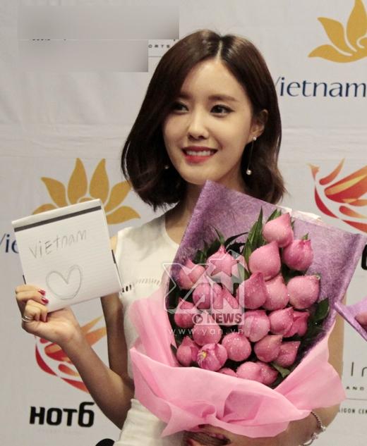 Đây là tác phẩm cuối cùng của Hyo Min cũng là lời cô chia sẻ khi lần đầu đến với Tp.HCM và gặp fans Việt Nam