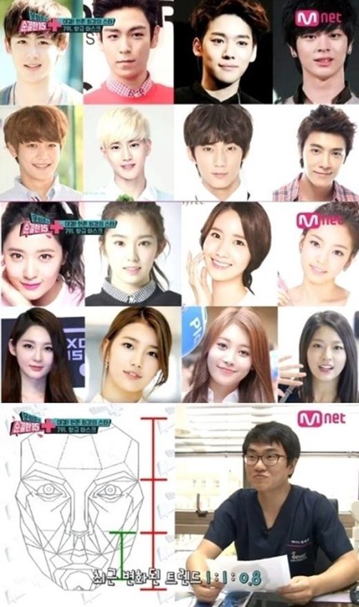 Danh sách những khuôn mặt đẹp của Kpop được đưa ra khảo sát